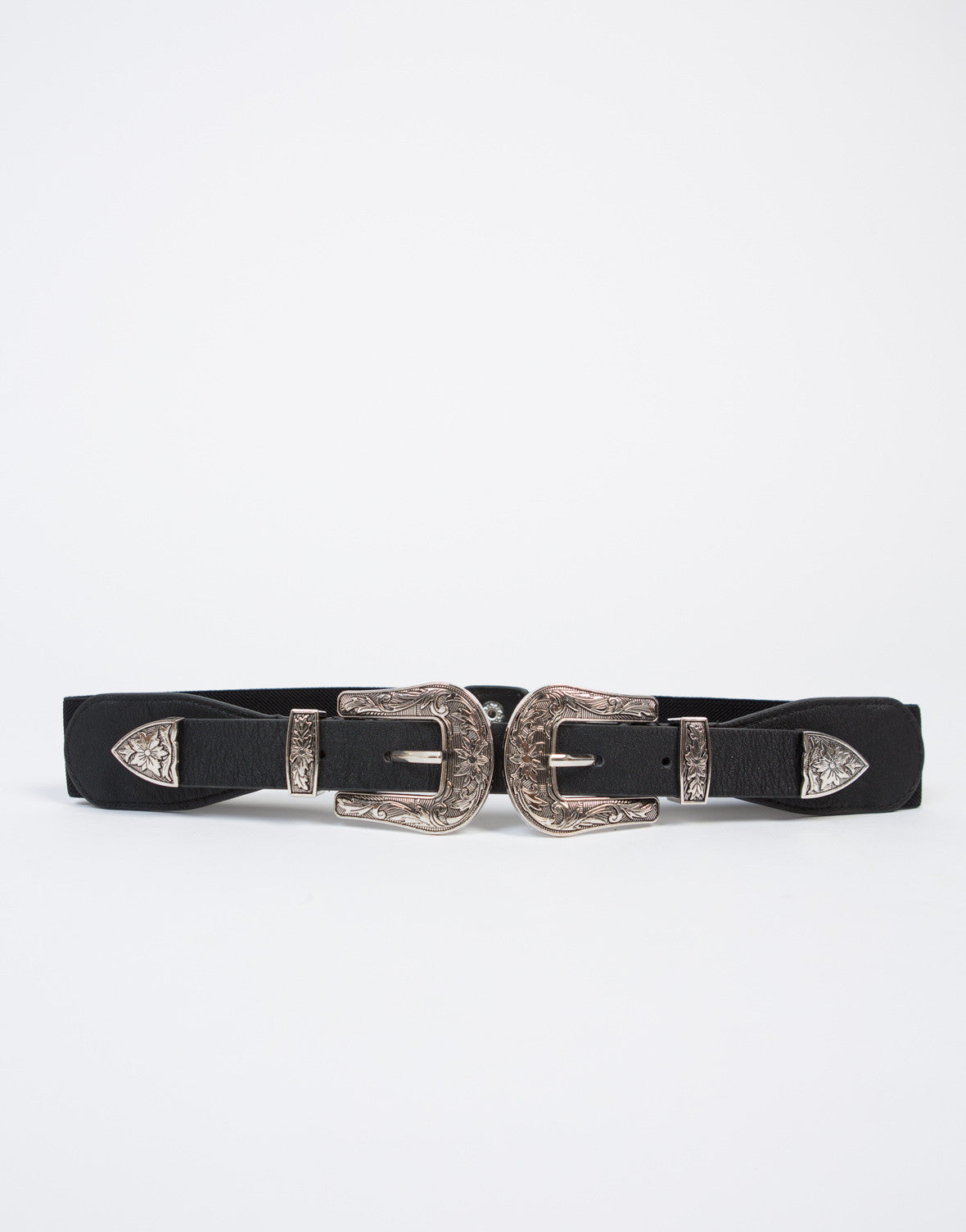 Double Up Western Waist Belt