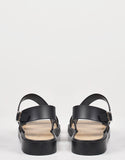 Back View of Double Banded Slingback Jelly Sandals