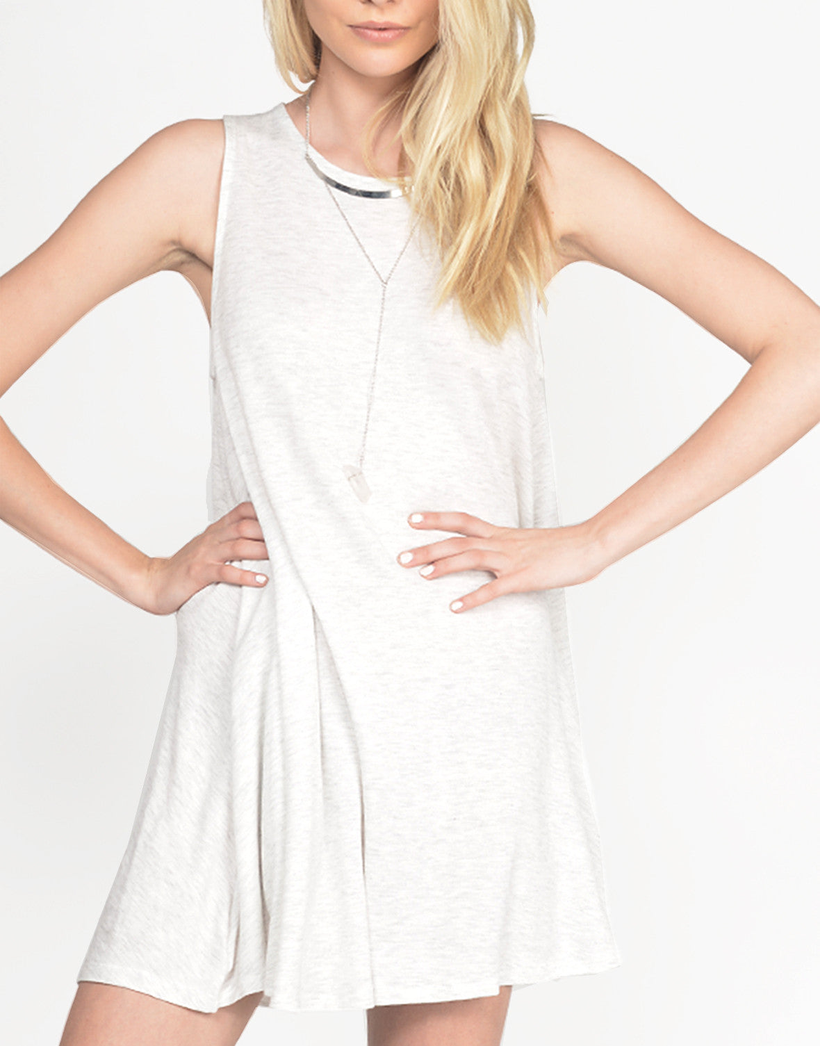 Double Keyhole Tank Dress - 2020AVE