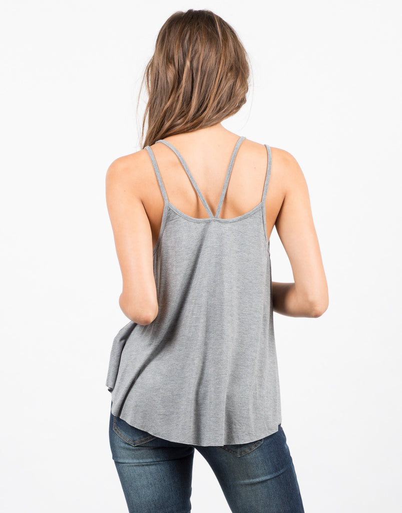 Double Strap Tank Top - 2020AVE