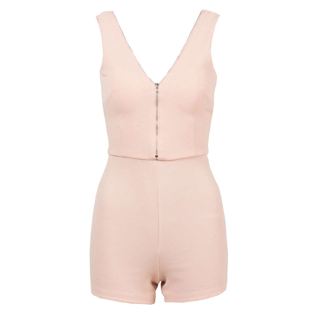 Double Zipper Romper - 2020AVE