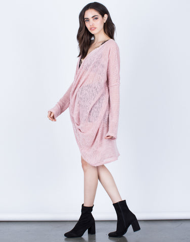 Draped Knit Tunic - 2020AVE