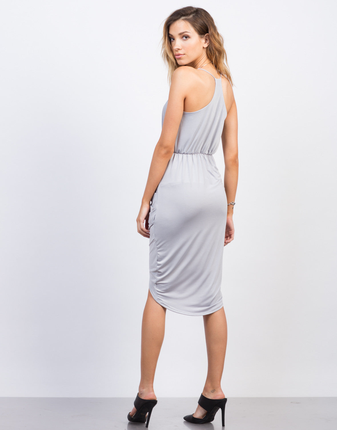 Drapey Pleated Party Dress - 2020AVE