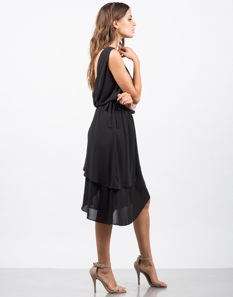 Drapey Chiffon Dress - 2020AVE