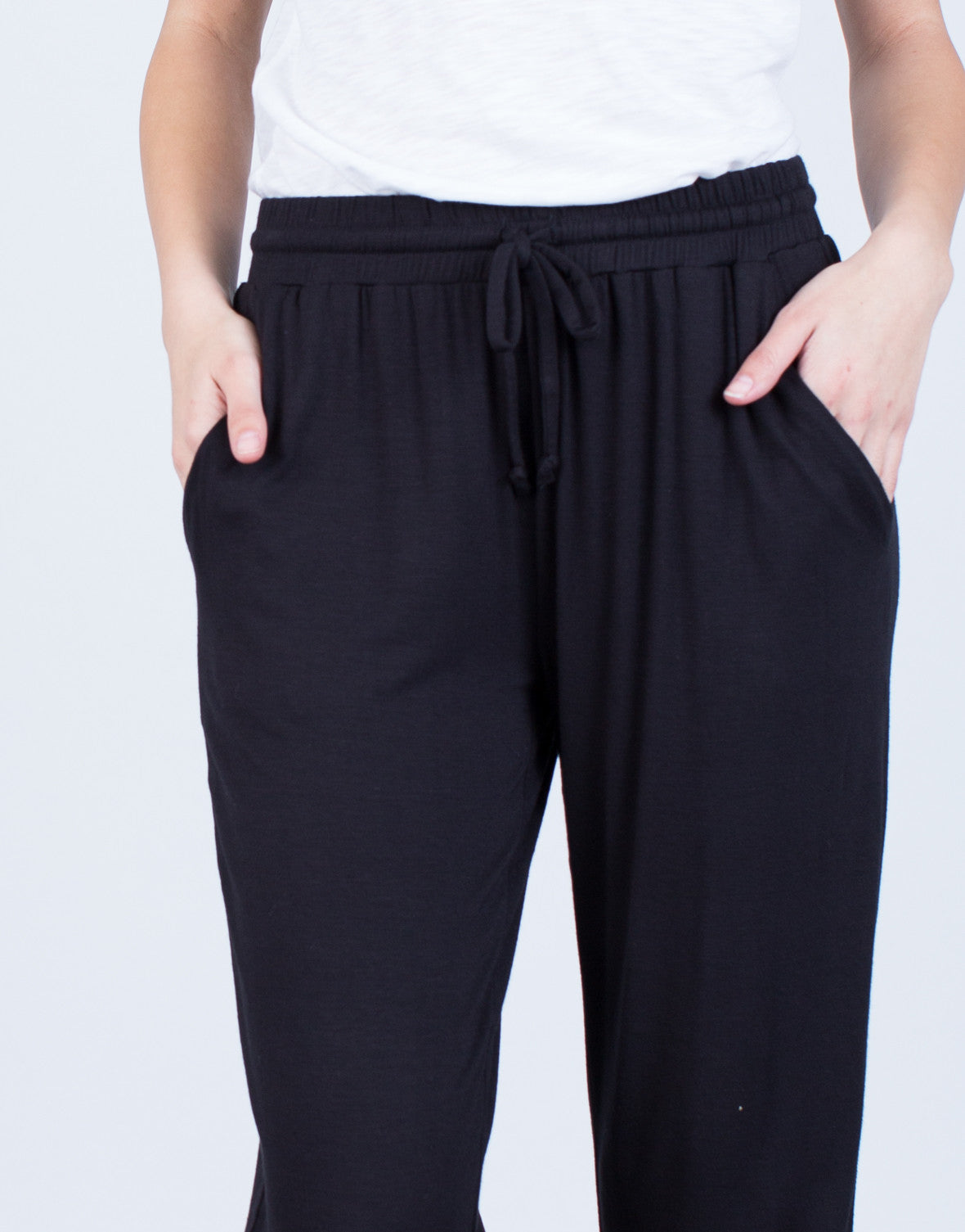 Detail of Drawstring Joggers