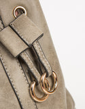 Detail of Drawstring Bucket Bag