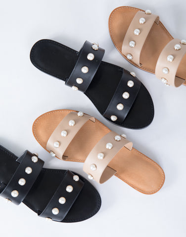 Drop of Pearls Sandals