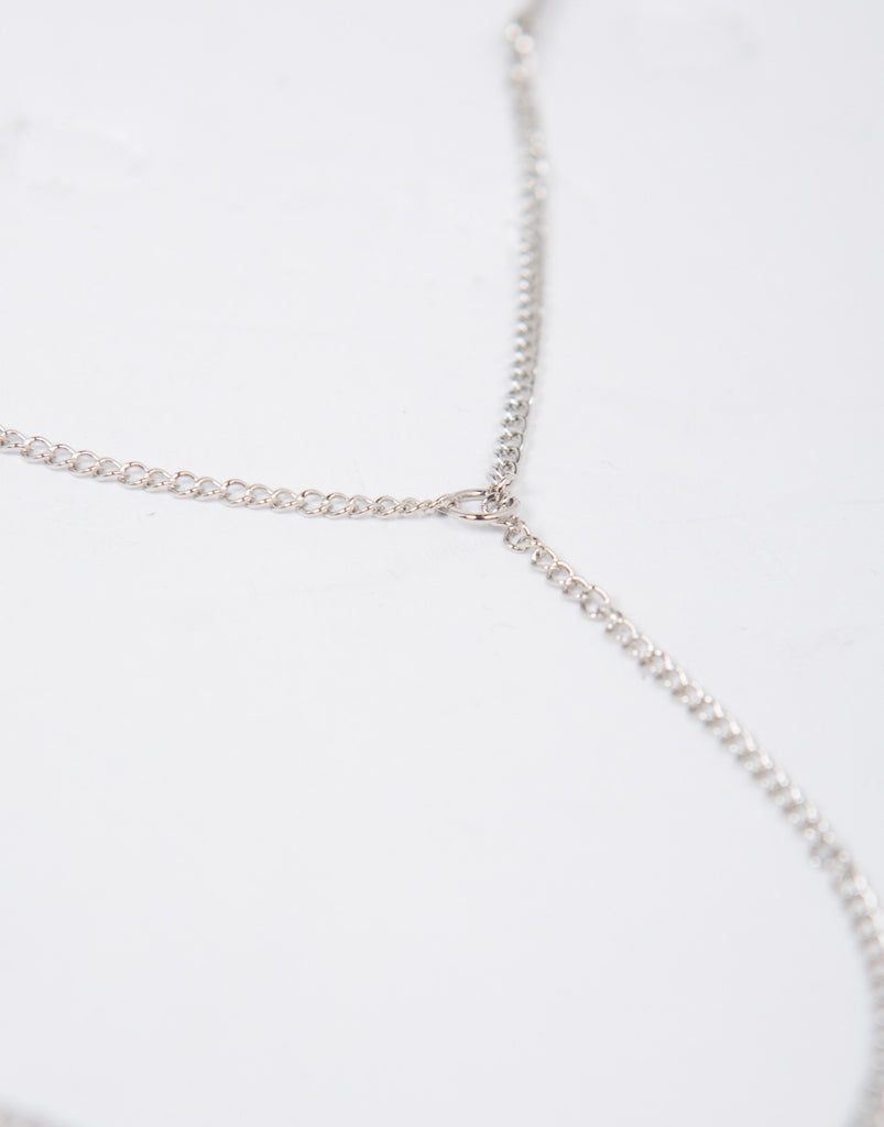 Drop Chain Collar Necklace - 2020AVE