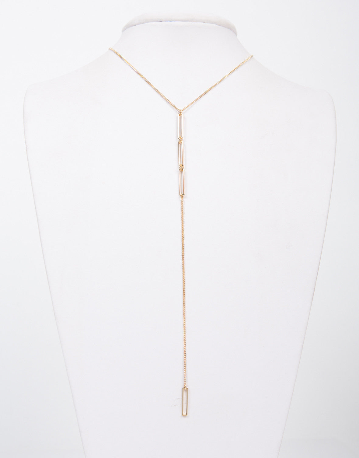 Drop Chained Necklace - 2020AVE