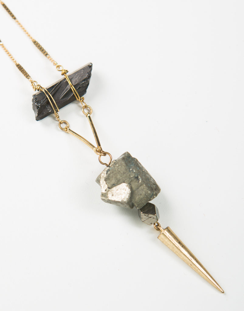 Drop Stone Necklace - 2020AVE