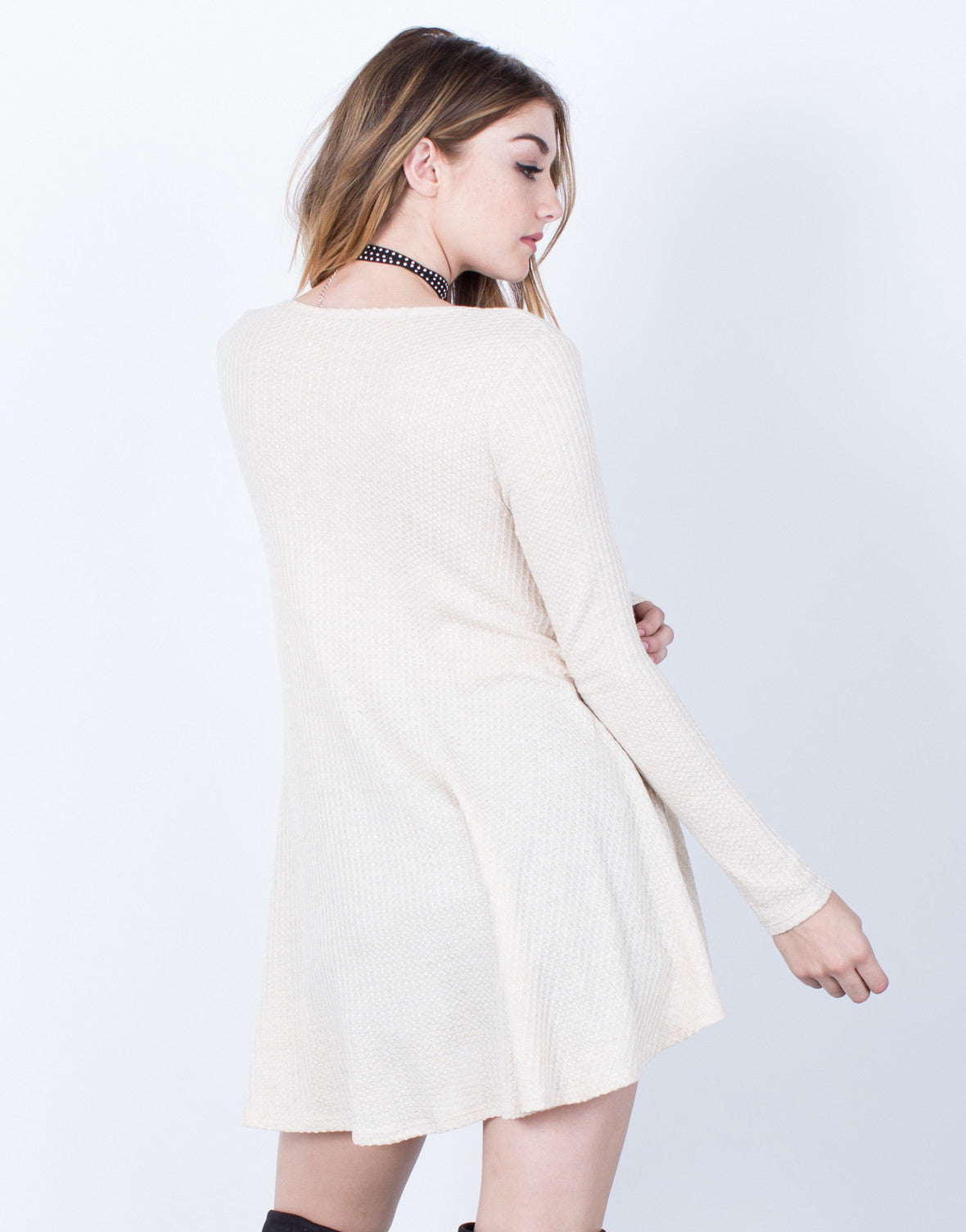 Back View of Easy Breezy Tunic Top