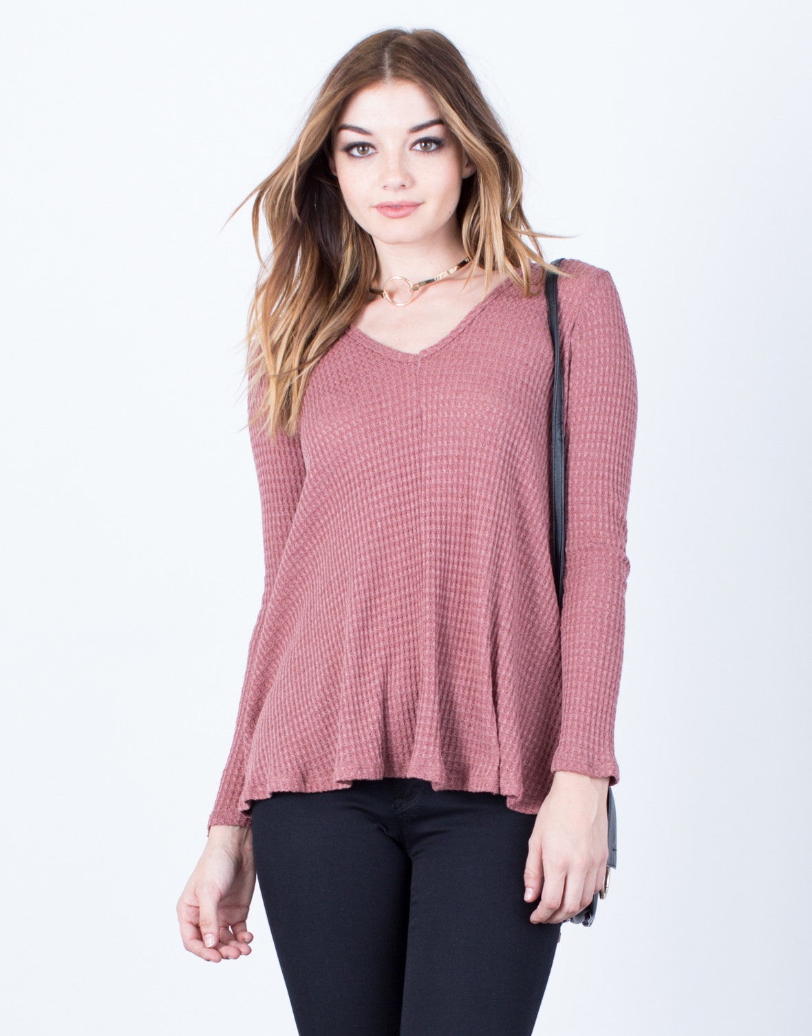 Front View of Easy Breezy Tunic Top