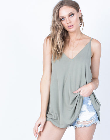 Front View of Easygoing Tank Top