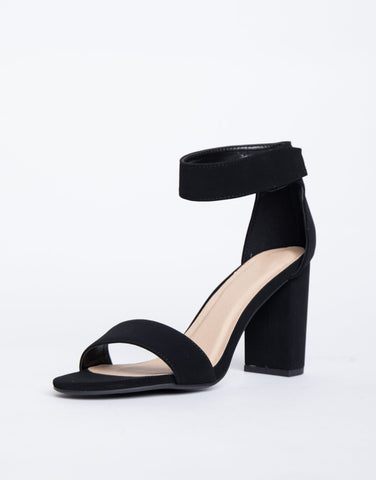 Easy Velcro Strapped Heels