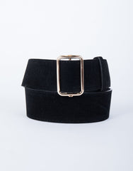 Effortless Suede Belt
