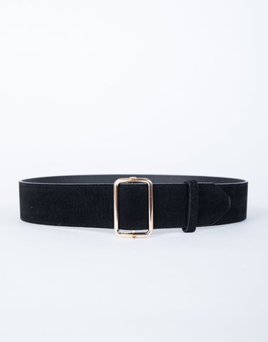 Effortless Suede Belt - 2020AVE