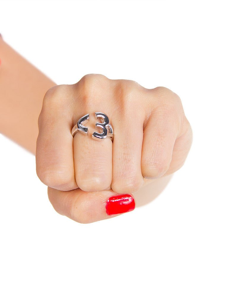 Emoticon Heart Ring