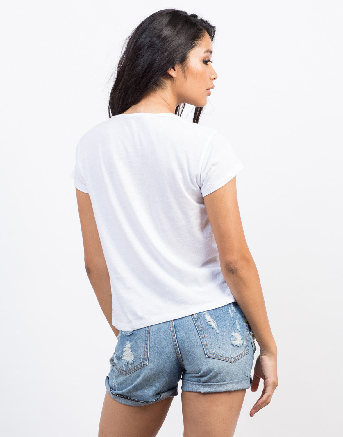 Back View of Espresso Yourself Tee