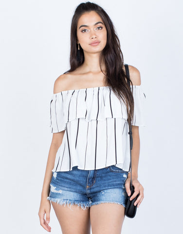 Evelyn Striped Top - 2020AVE