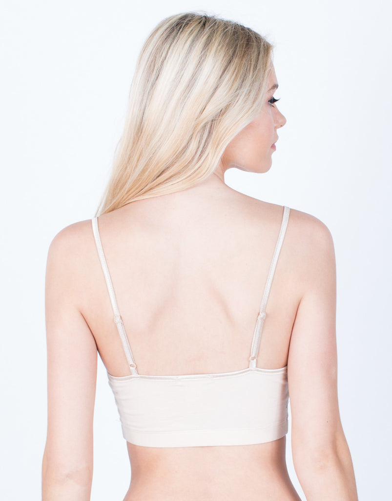 Back View of Everyday Active Bralette