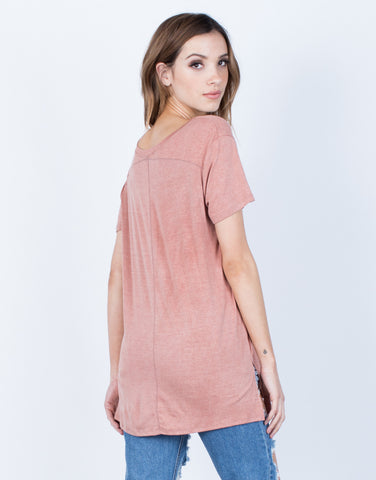 Back View of Everyday Soft Tee