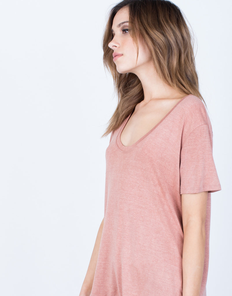 Detail of Everyday Soft Tee