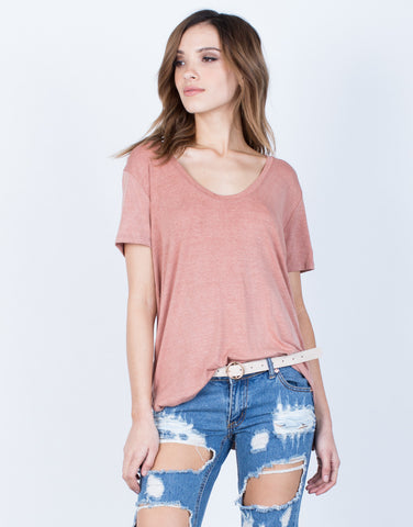 Front View of Everyday Soft Tee