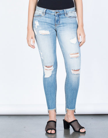 Everyday Step Hem Jeans - 2020AVE