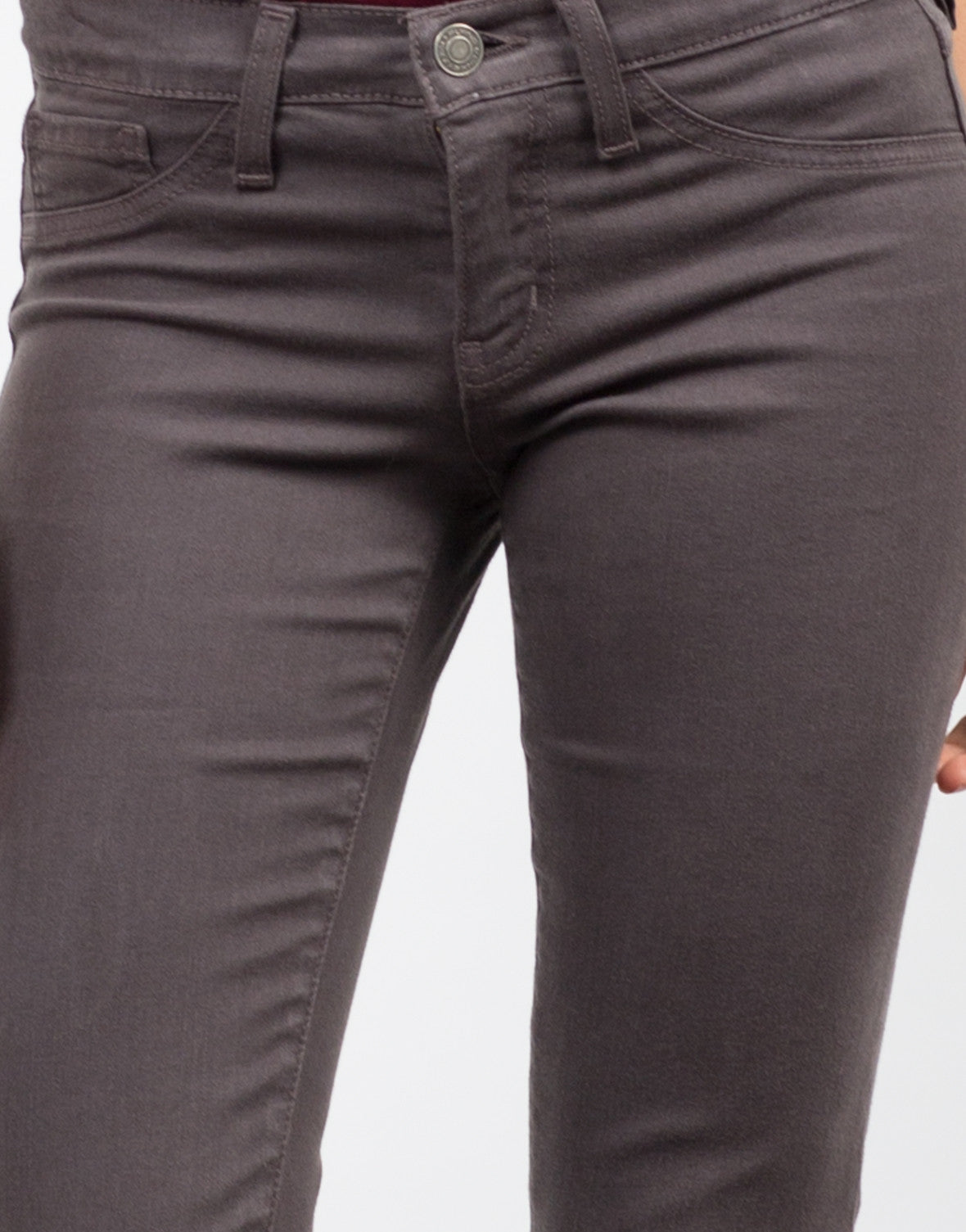 Detail of Ex Boyfriend Skinny Jeans