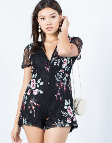 Exclusive Floral Romper
