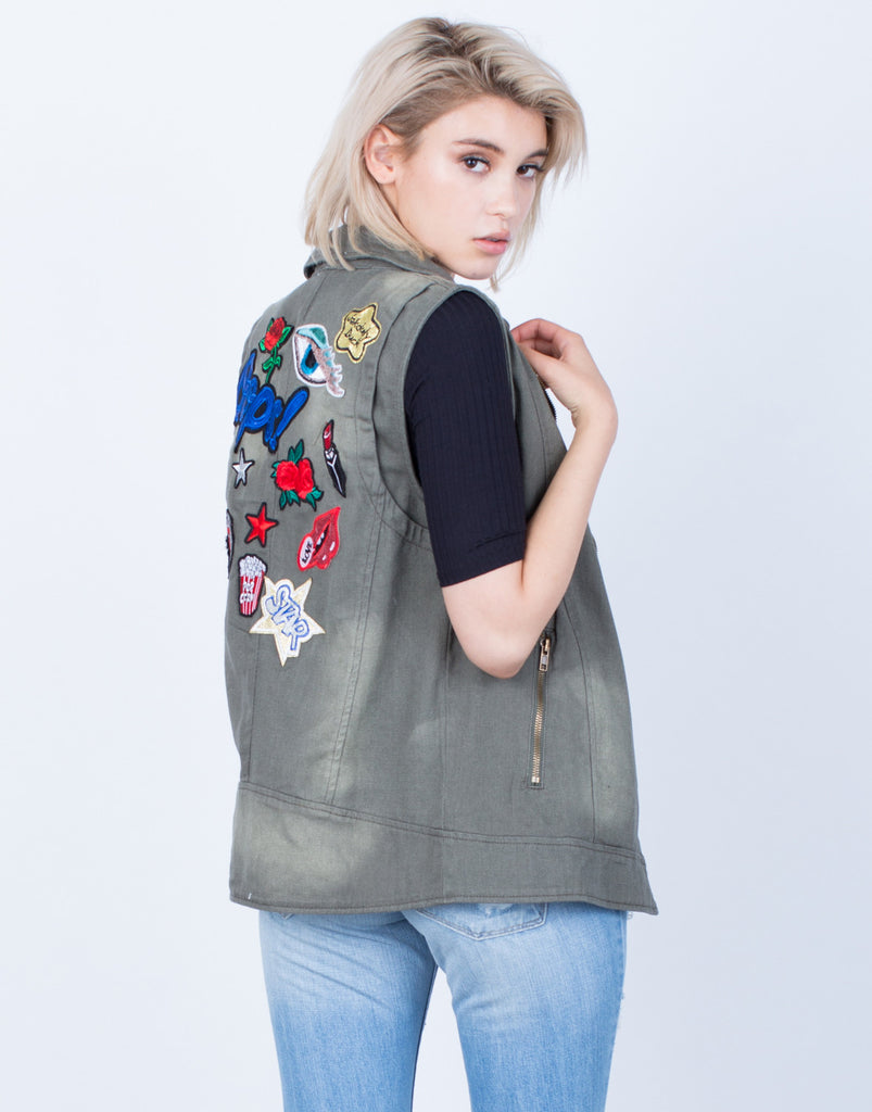 Exclusive Patched Vest - 2020AVE