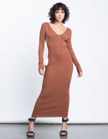 Fall Vibes Maxi Dress - 2020AVE