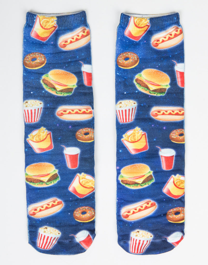 Fast Food Galaxy Crew Socks - 2020AVE