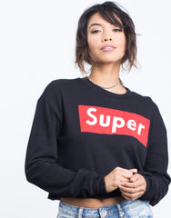 Feelin' Super Sweatshirt