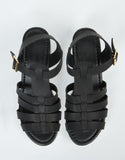 Top View of Fisherman Chunky Sandals