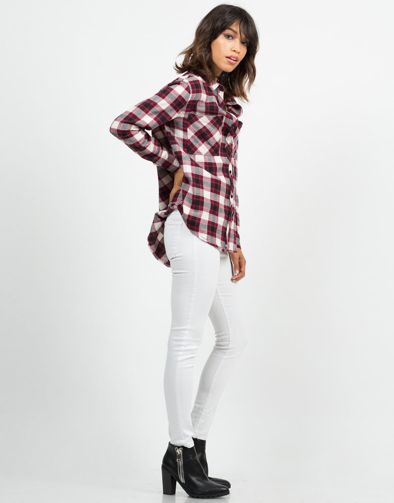 Flannel Checker Shirt - 2020AVE