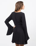 Back View of Flared Out Dress