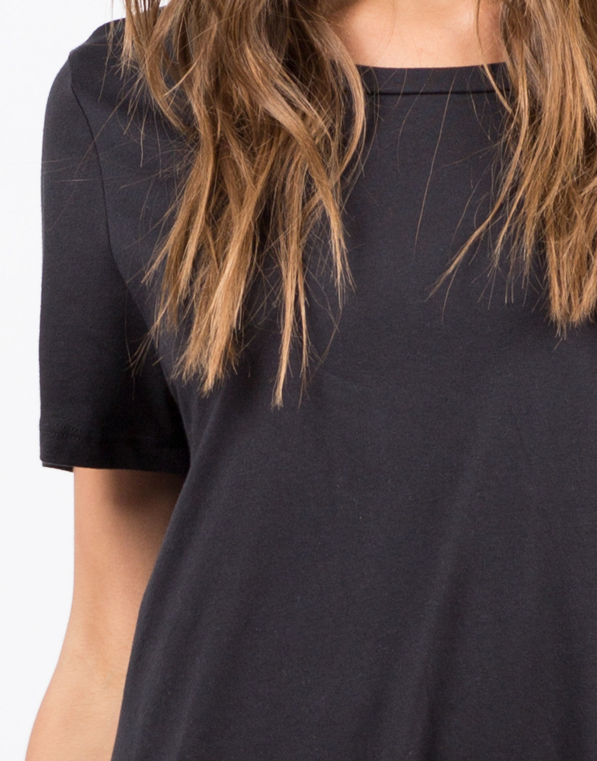 Detail of Flared T-Shirt Dress