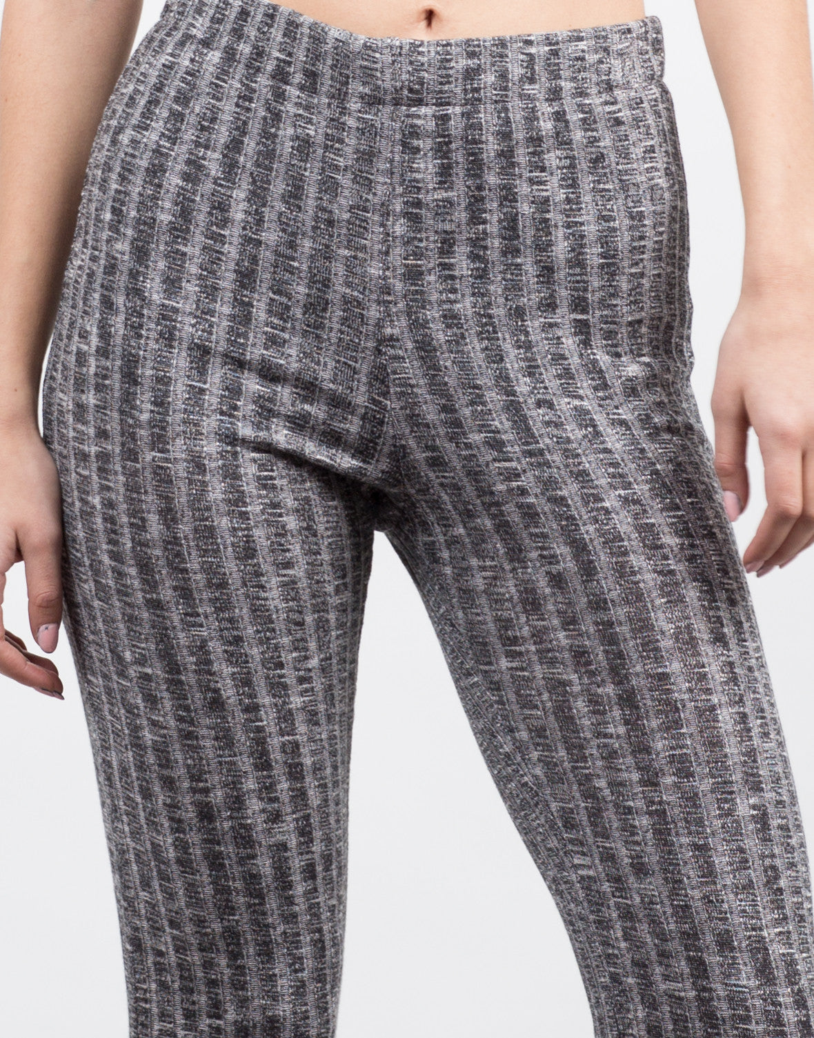 Flare Ribbed Pants - 2020AVE