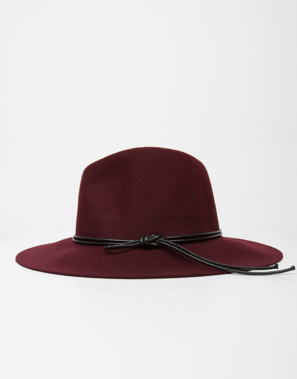 Side View of Floppy Fedora Hat