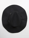 Top View of Floppy Western Hat