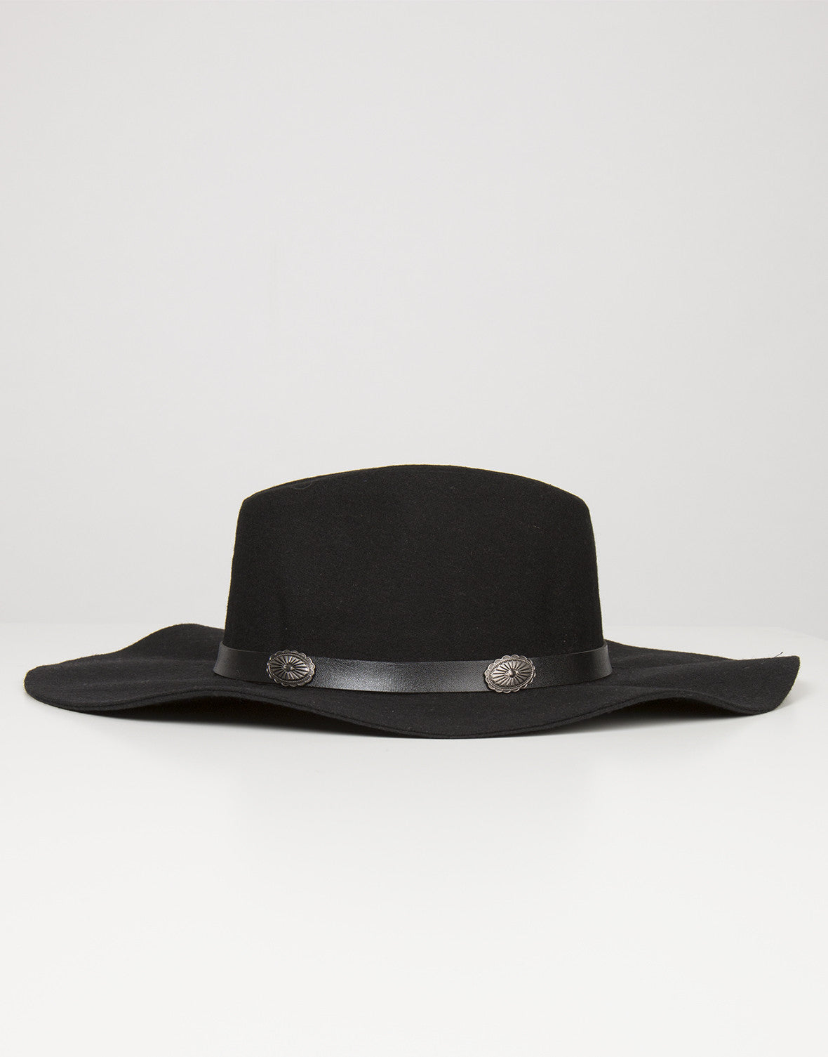 Side View of Floppy Western Hat