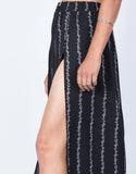 Floral Lined Maxi Skirt - 2020AVE