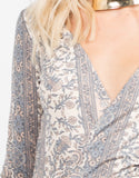 Detail of Floral Maxi Dress