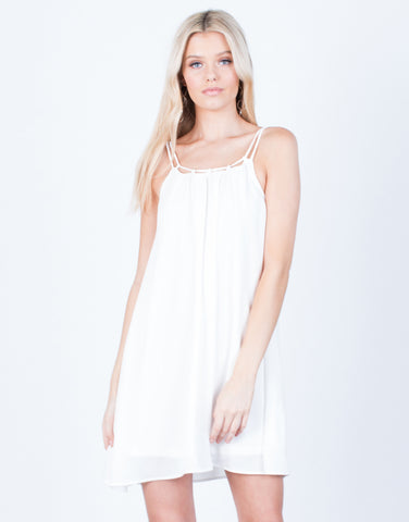 Front View of Flowy Cami Dress