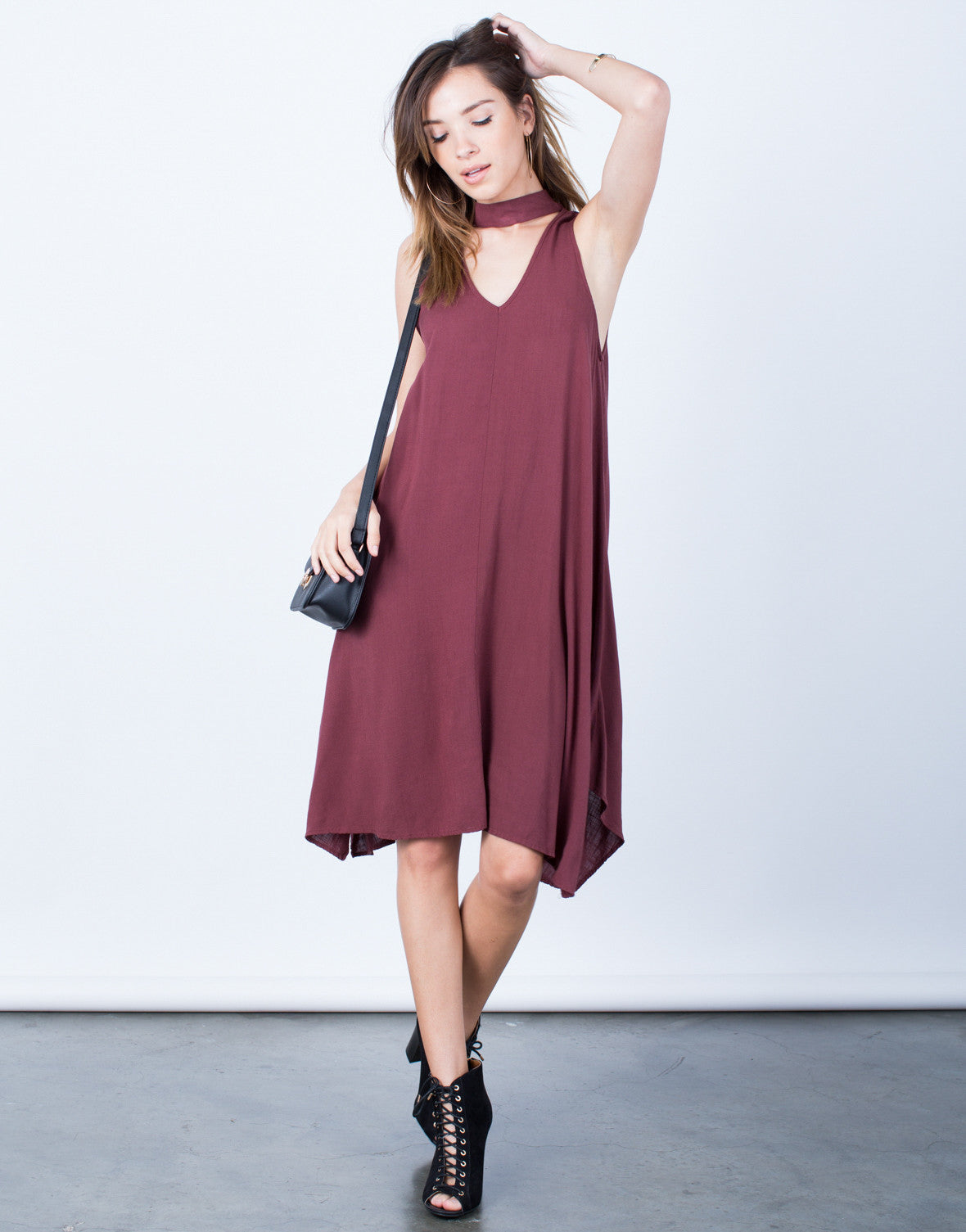 Flowy Choker Dress - 2020AVE