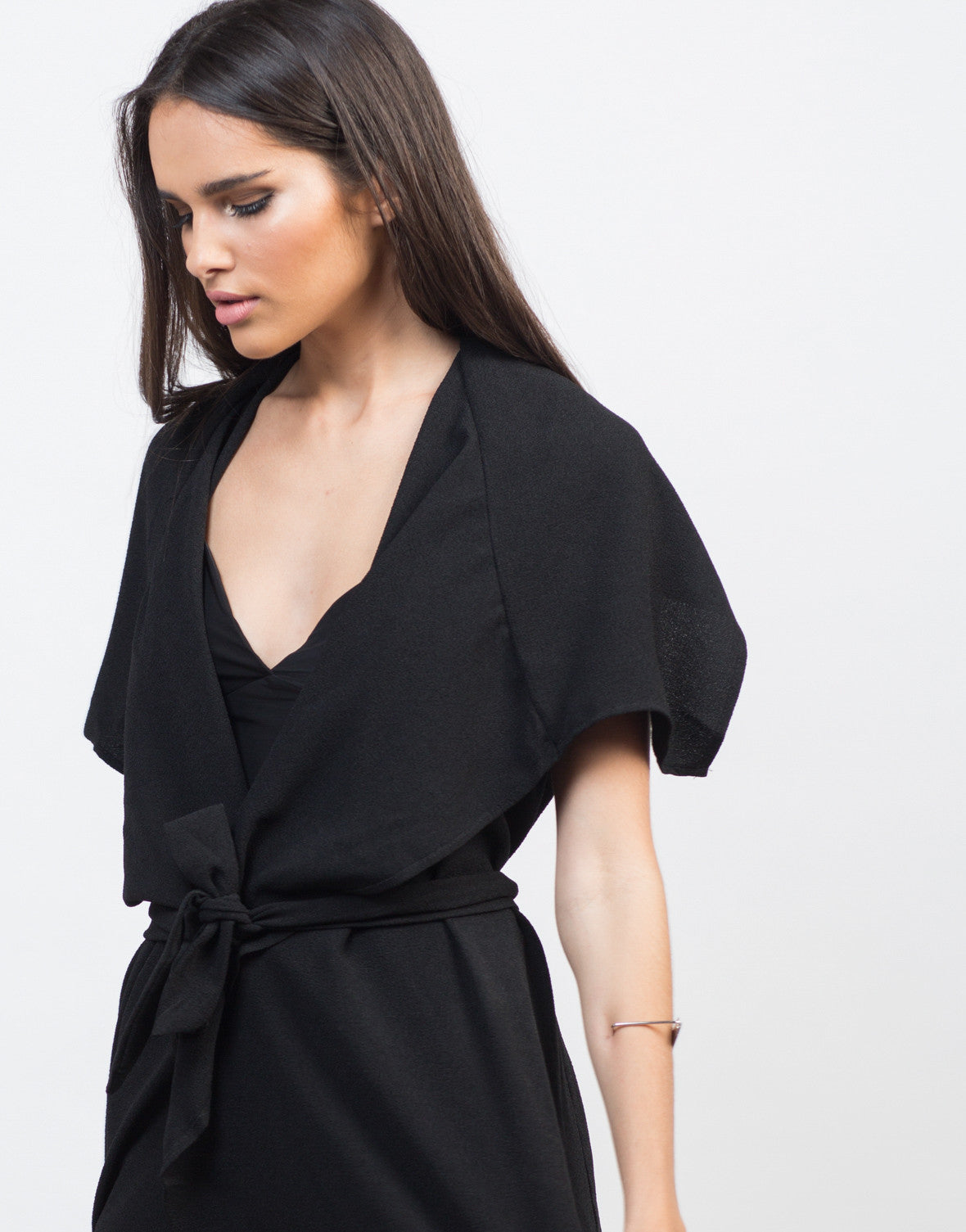 Flowy Drapey Trench Jacket - 2020AVE