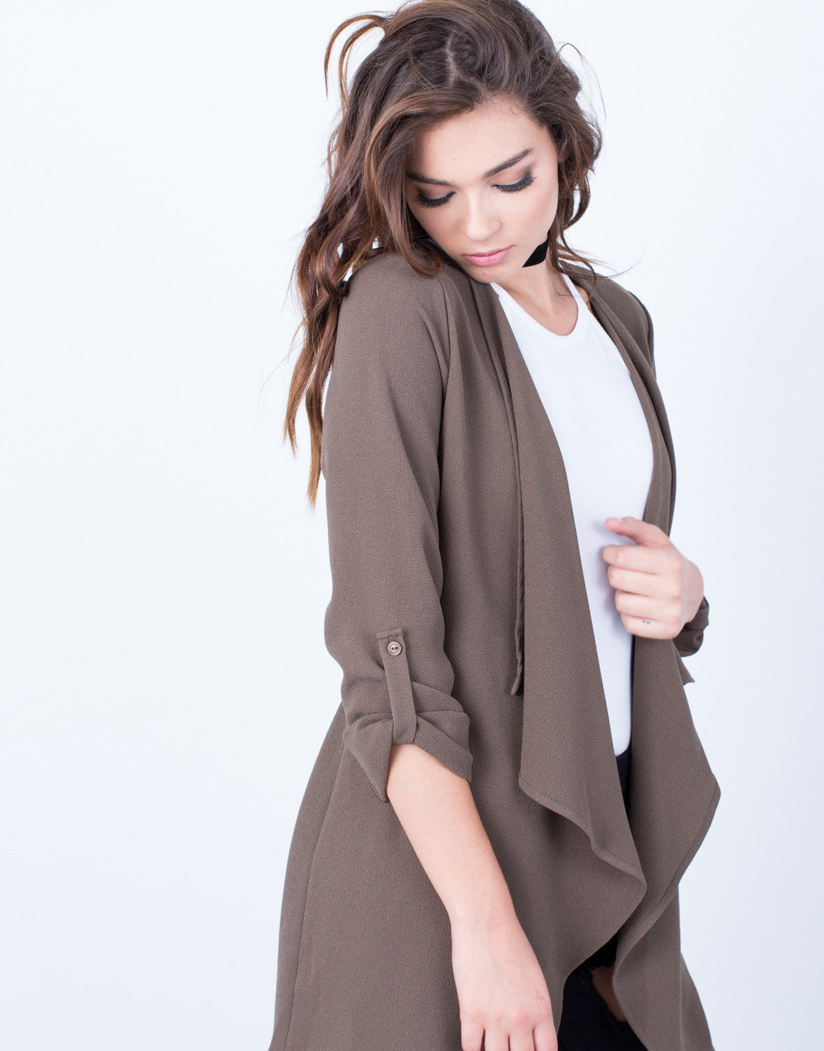 Flowy Open Cardigan - 2020AVE