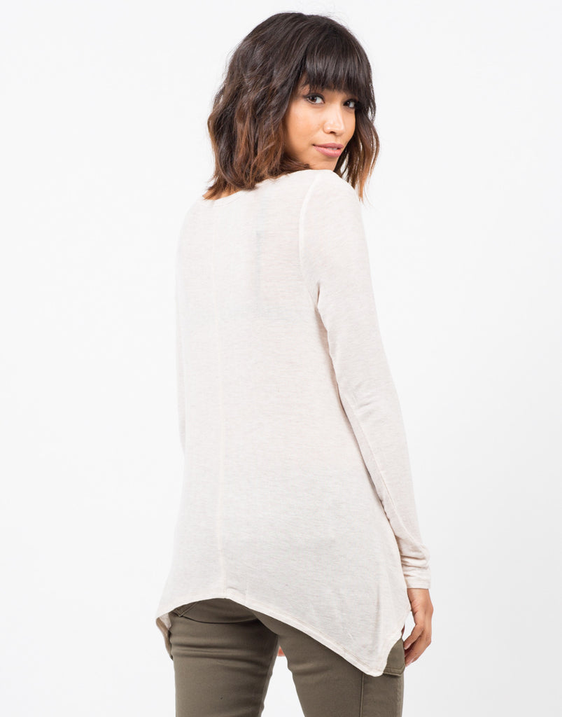 Flowy Long Sleeve Tee - 2020AVE