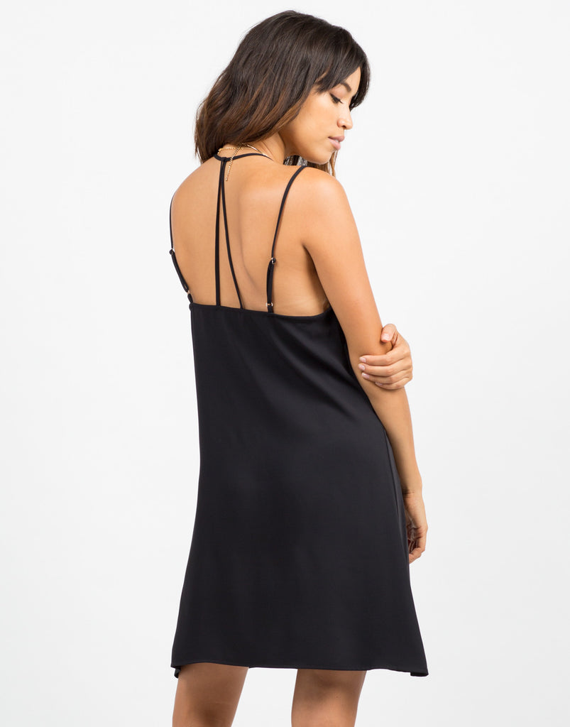 Flowy Strappy Slip Dress - 2020AVE